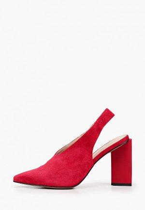 Туфли Calipso. Цвет: красный
