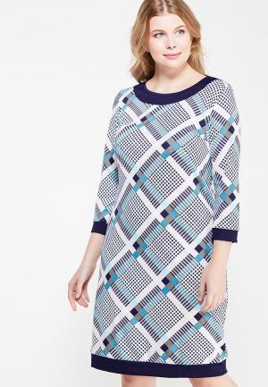 Платье Milana Style. Цвет: разноцветный