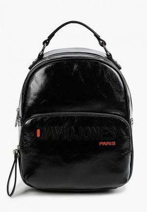Рюкзак David Jones. Цвет: черный