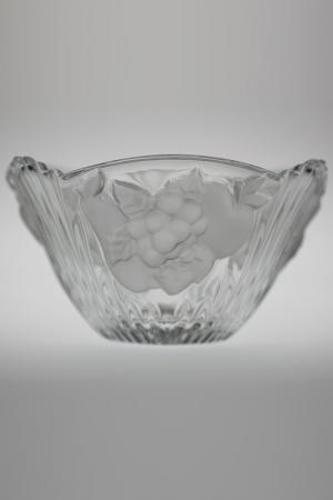 Салатник Фрукты 16,5 см Crystalite Bohemia. Цвет: прозрачный