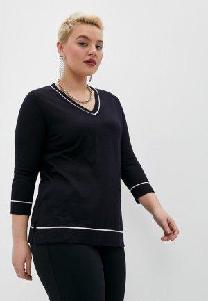 Пуловер Persona by Marina Rinaldi. Цвет: синий
