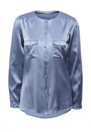 Блуза Patrizia Pepe. Цвет: синий