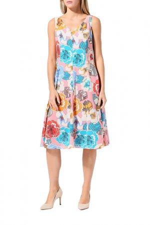 Платье BELUCCI. Цвет: коралловый
