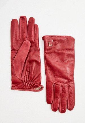 Перчатки LAutre Chose L'Autre. Цвет: бордовый