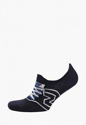 Носки New Balance. Цвет: синий