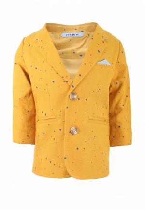 Пиджак Irby Style. Цвет: желтый