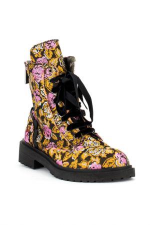 Ботинки fornarina. Цвет: коричневый
