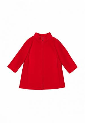 Пальто Sonata Kids. Цвет: красный