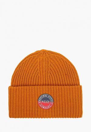 Шапка Herschel Supply Co. Цвет: оранжевый