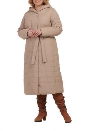 Пальто MODRESS. Цвет: кофе