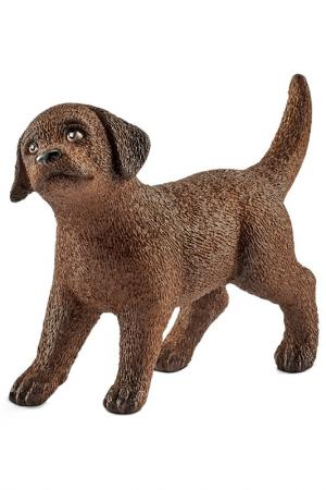 Лабрадор, щенок Schleich. Цвет: коричневый
