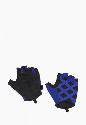 Перчатки для фитнеса Reebok. Цвет: синий