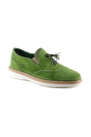 Туфли Gianfranco Butteri. Цвет: зелёный