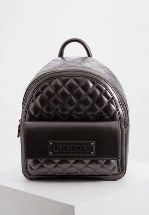 Рюкзак Love Moschino. Цвет: серый