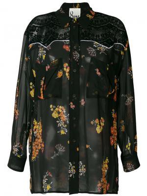 Блузка Sienna 8pm. Цвет: чёрный