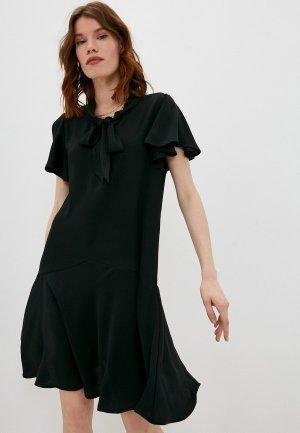 Платье Harmont & Blaine. Цвет: черный