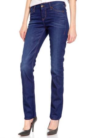 Брюки джинсовые MUSTANG. Цвет: dark rinse used