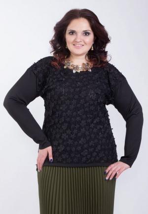 Блуза Wisell. Цвет: черный