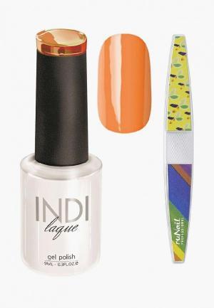 Набор для ухода за ногтями Runail Professional. Цвет: оранжевый