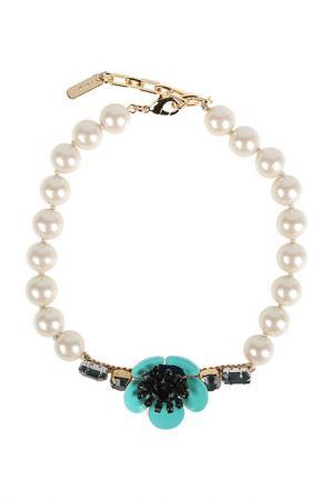 Ожерелье RADA. Цвет: голубой