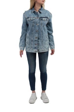 Джинсовая куртка MAVI. Цвет: голубой