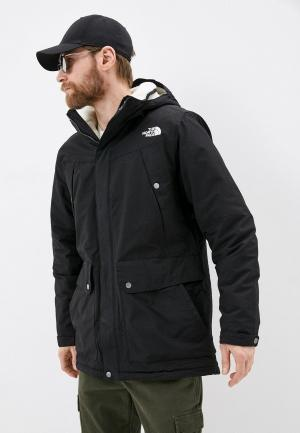 Парка The North Face. Цвет: черный