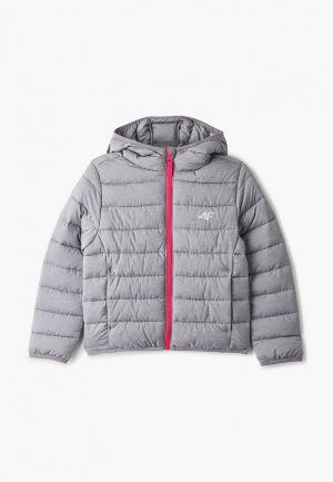 Куртка утепленная 4F. Цвет: серый