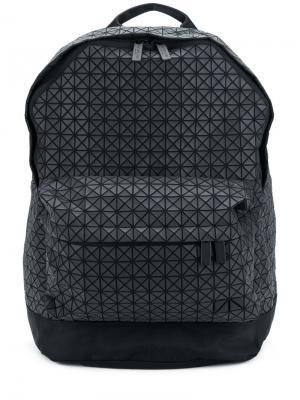 Рюкзак с геометрическим узором Bao Issey Miyake. Цвет: чёрный
