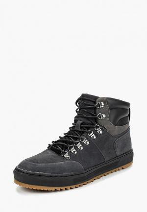 Ботинки Mexx. Цвет: серый