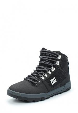 Ботинки DC Shoes. Цвет: черный