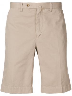 Chino shorts Hackett. Цвет: телесный