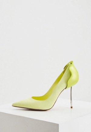 Туфли Le Silla. Цвет: желтый