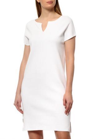 Платье Cruciani. Цвет: белый