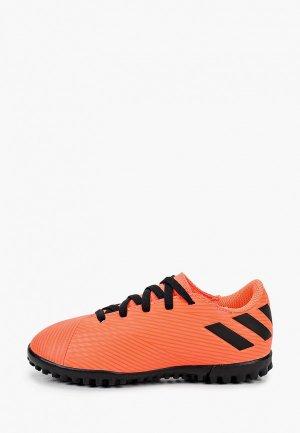 Шиповки adidas. Цвет: коралловый