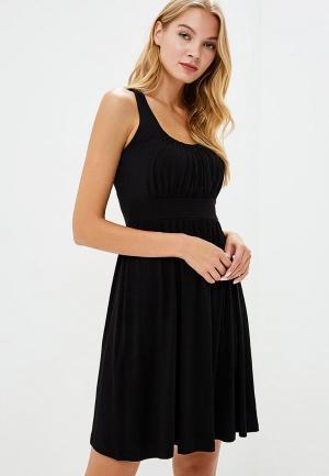 Платье пляжное Lascana. Цвет: черный