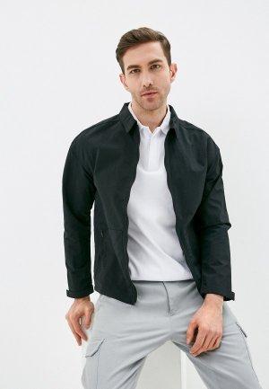 Куртка Reebok. Цвет: черный