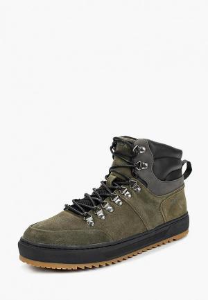 Ботинки Mexx. Цвет: зеленый