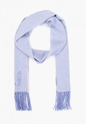 Шарф Max&Co. Цвет: голубой