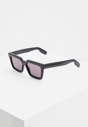 Очки солнцезащитные Kenzo. Цвет: черный
