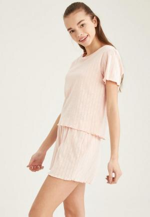 Пижама DeFacto. Цвет: розовый