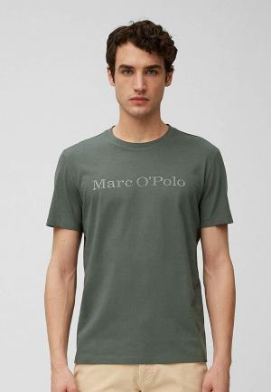 Футболка Marc OPolo O'Polo. Цвет: хаки