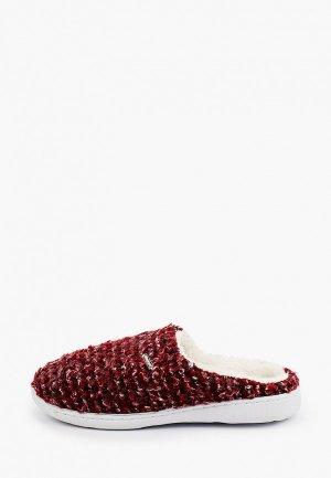 Тапочки Beppi. Цвет: бордовый