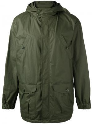 Легкая куртка A.P.C.. Цвет: зелёный