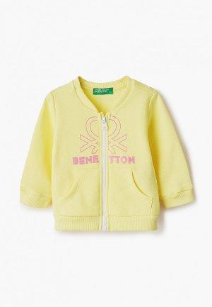 Олимпийка United Colors of Benetton. Цвет: желтый