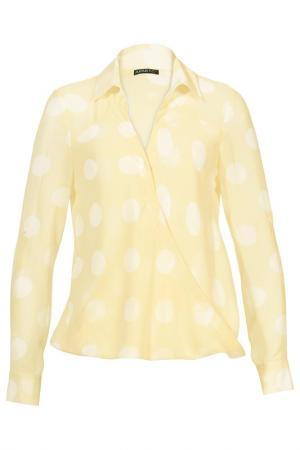 Блузка Apart. Цвет: ванильный