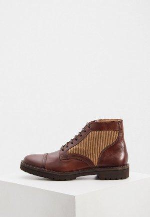 Ботинки Eleventy. Цвет: коричневый