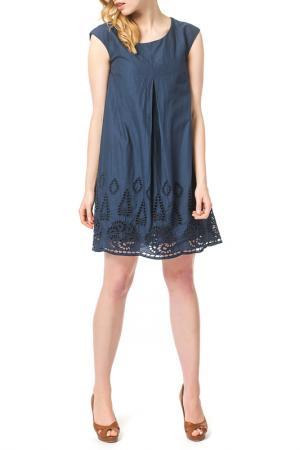 Dress ECCENTRICA. Цвет: синий