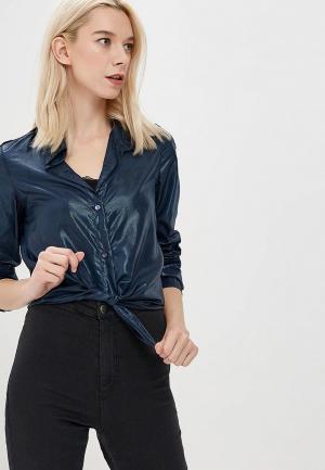 Рубашка Custo Barcelona. Цвет: синий