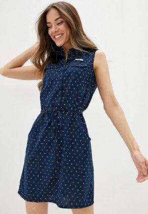 Платье Columbia. Цвет: синий