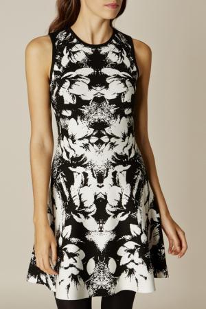 Платье Karen Millen. Цвет: белый